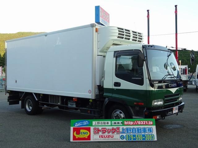 いすゞ フォワード 冷凍車 低温 床キーストン 標準幅 3.1t積み
