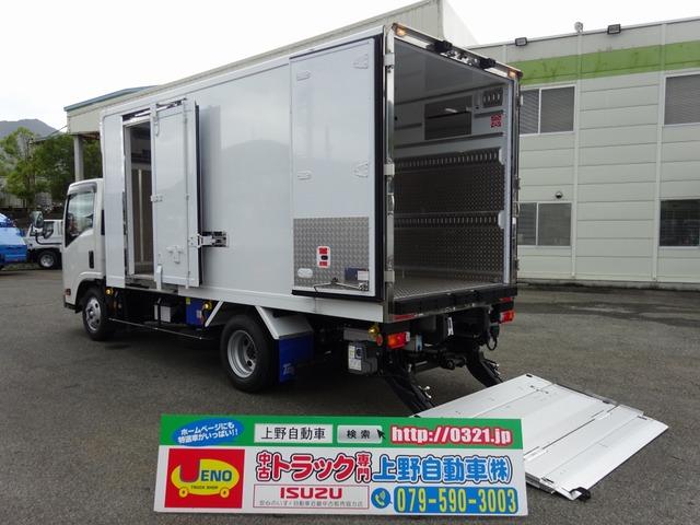 いすゞ エルフ 冷凍車 3t 低温 パワーゲート スタンバイ装置