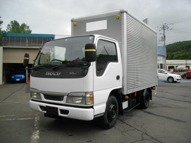 いすゞ エルフ  ドライバン 4WD AT車 Bカメラ