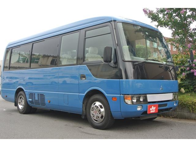 三菱ふそう ローザ バス 自動ドア・モケットシート・26人乗り
