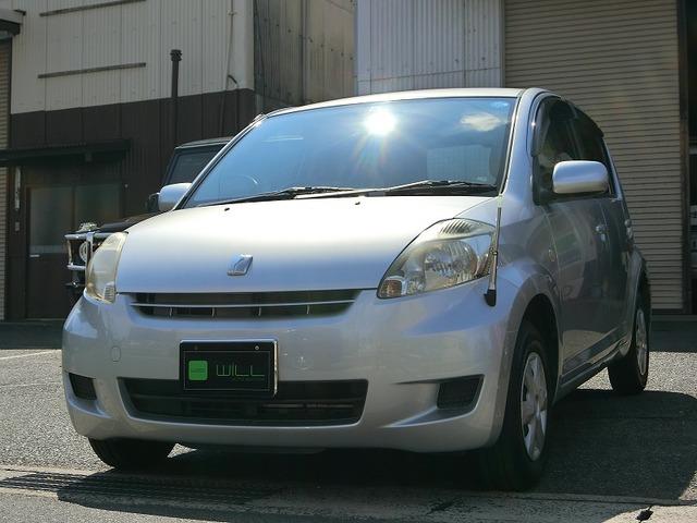 トヨタ パッソ 1.0 X 純正CDデッキ フルフラット エアコン