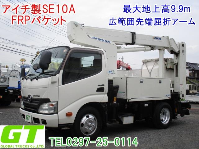 日野 デュトロ 高所作業車 高所作業車・アイチSE10A