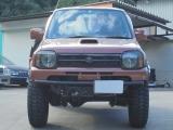 ジムニー ランドベンチャー 4WD リアカット 2インチリフトアップ