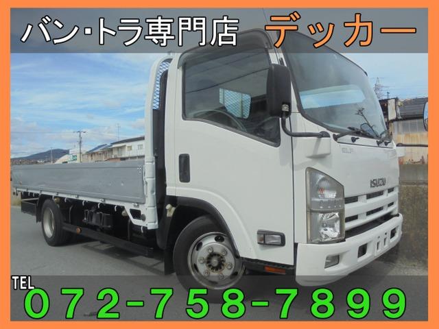 いすゞ エルフ  3.5tアルミ/ワイドL荷436-208