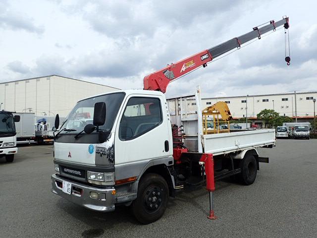 三菱ふそう キャンター クレーン H12 5段ラジコン 3.7t 車検付