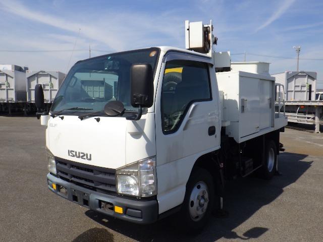 いすゞ エルフ 高所作業車 8.0m  高所作業車
