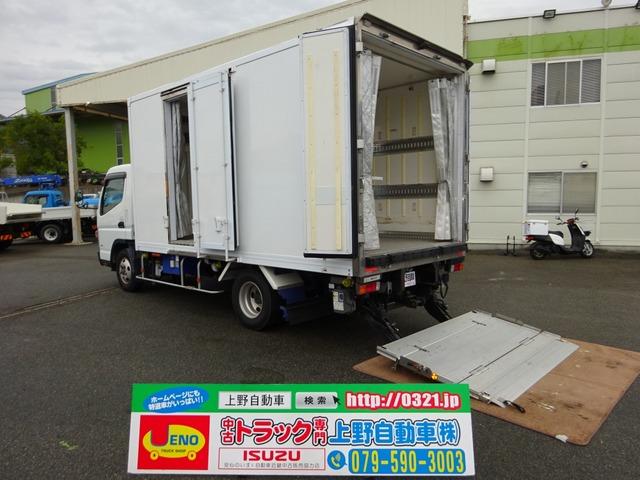 三菱ふそう キャンター 冷凍車 低温 パワーゲート付き 2t積み