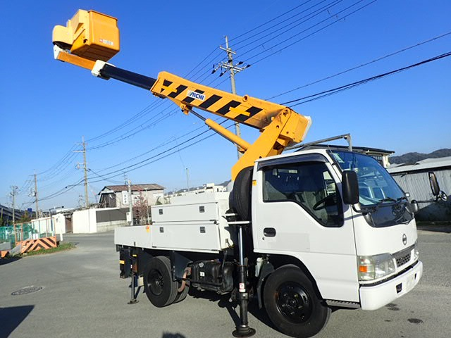 日産 アトラス 高所作業車 H14 アイチ 9.7m SH09A