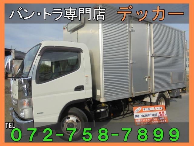 三菱ふそう キャンター 3.0 ワイド ロング 全低床 DX ディーゼルターボ 2.9t アルミ荷447-208-225