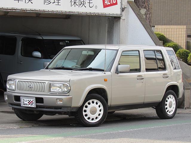 日産 ラシーン 1.5 タイプI 4WD 背面なし リアスモーク 新品タイヤ