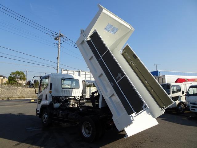 いすゞ フォワード ダンプ Lゲート 3.6t積み 電動コボレーン付