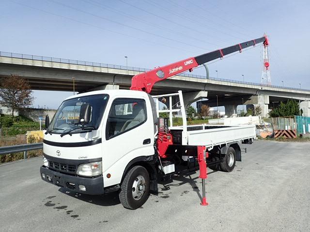 トヨタ ダイナ クレーン H14 5段ラジコン 超ロング 3.5t