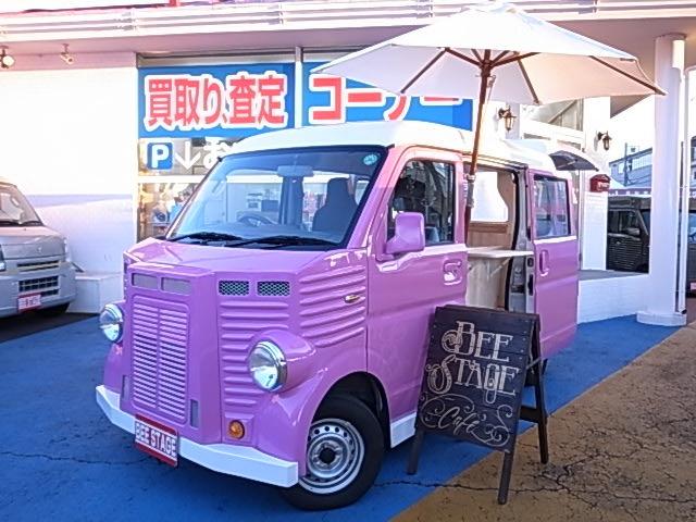 マツダ スクラム PA ハイルーフ 新規製作移動販売車 キッチンカー