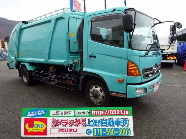 日野 レンジャー パッカー車 プレス式 増トン 10.2m3