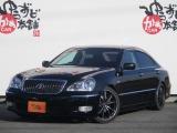 トヨタ クラウンマジェスタ 4.3 Cタイプ 黒革電動シートWEDS19AW Tベル済