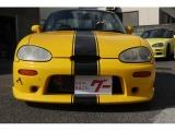 カプチーノ フルオープン ブリッツ車高調 エアロ アドバン15AW