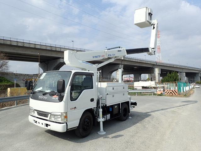 いすゞ エルフ 高所作業車 H16 SE10A 9.9m 屈伸アーム