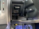 ハンドル調整レバー、ETCはこちらに装着されています。