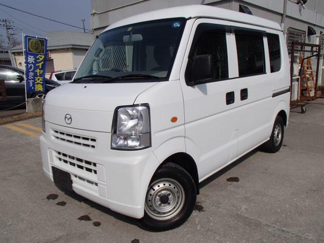 マツダ スクラム PC ハイルーフ 5AGS車 4WD