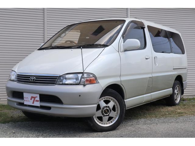 トヨタ グランビア  ディーゼルTB 電動スライドドア サンルーフ ナビ ETC