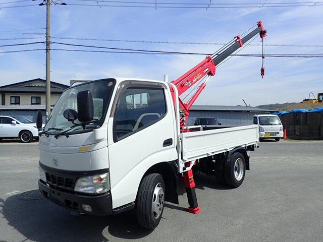 トヨタ ダイナ クレーン H18 10尺 簡易3段 2.95t積
