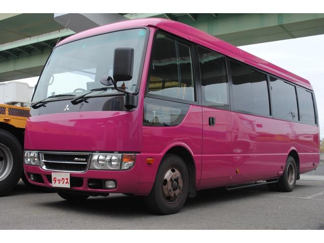 三菱ふそう ローザ バス 自動ドア バックモニター 21人乗り