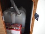 給水・排水タンク カセットコンロ付き