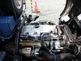 4.890ccディーゼルターボIC付、エンジン型式4M50、150ps