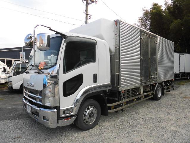 いすゞ フォワード 冷蔵冷凍車 ワイドロング冷蔵冷凍車