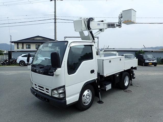 いすゞ エルフ 高所作業車 H17 SS10A 9.7M 整備済