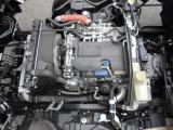 3リッターディーゼルターボIC付です。エンジン型式4P10、150馬力!