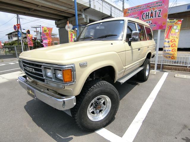 トヨタ ランドクルーザー ZX 1ナンバー Dターボ4WD 外16AW