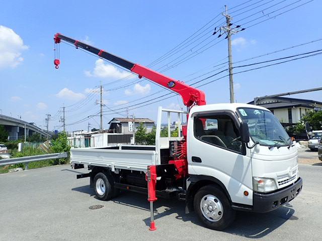 トヨタ ダイナ クレーン H21 4段ラジコン 2t 塗装済