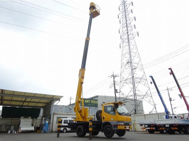 三菱ふそう キャンター 高所作業車 12.5m アイチ スカイマスター