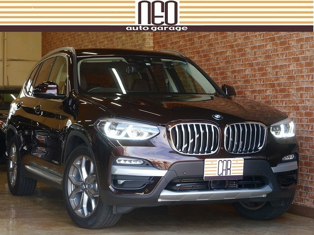 BMW X3 xドライブ20d xライン ディーゼルターボ 4WD 1オーナー下取車■360度ドラレコ■革