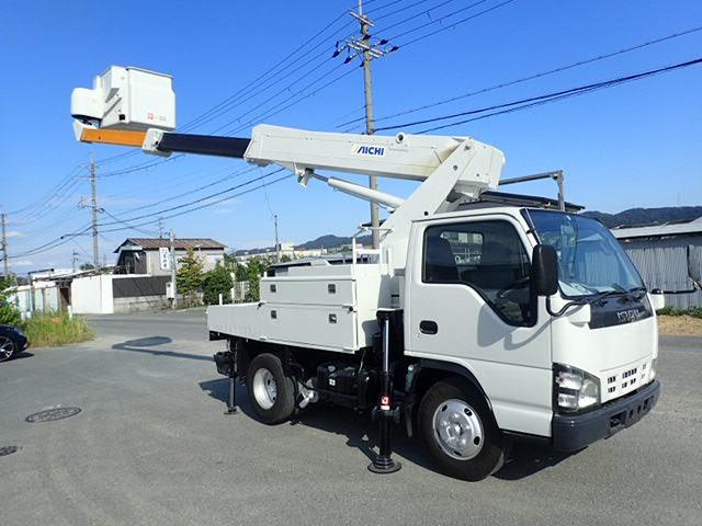 いすゞ エルフ 高所作業車 H17 SH09Aワンピン 整備・塗装済