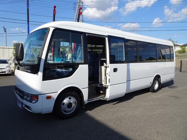 三菱ふそう ローザ バス 33人乗り スーパーロング 175馬力