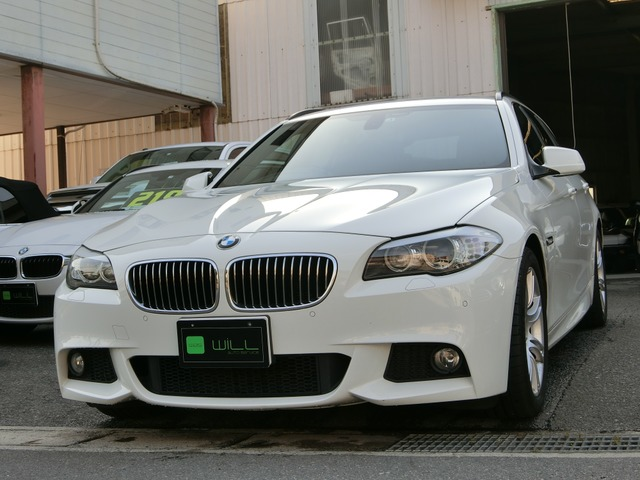 BMW 523iツーリング Mスポーツパッケージ 純正ナビ ワンオーナー