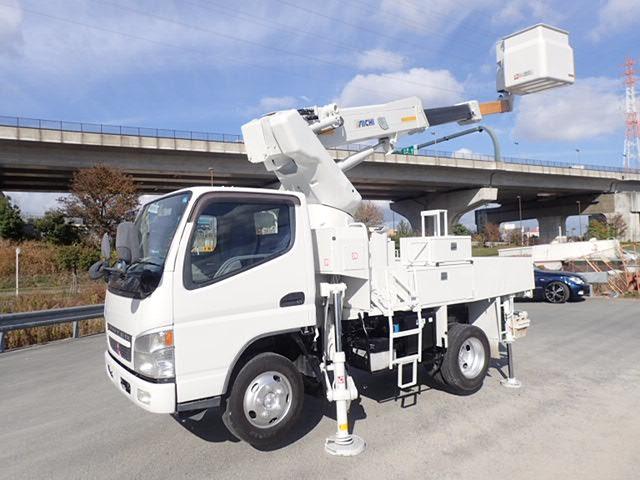 三菱ふそう キャンター 高所作業車 H15 SH09A 9.7m 4WD