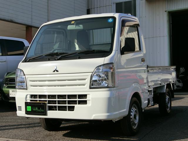 三菱 ミニキャブトラック M 4WD 4WD 5MT 純正ラジオ エアコン