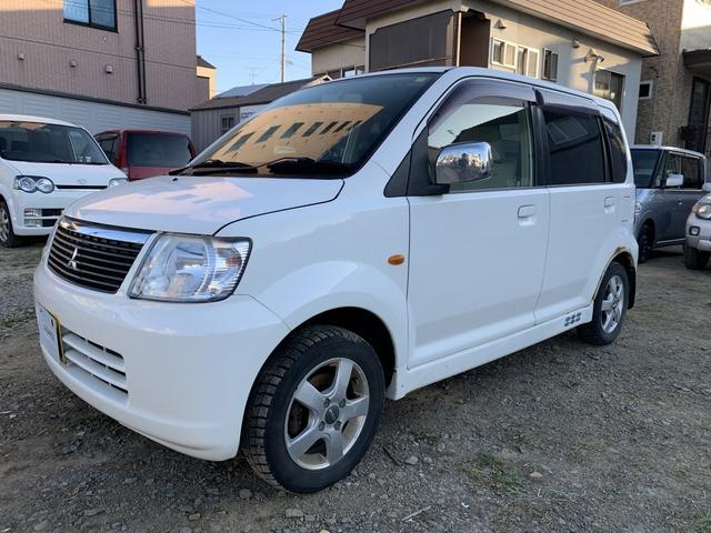 三菱 eKワゴン  車検2年付!4WD!