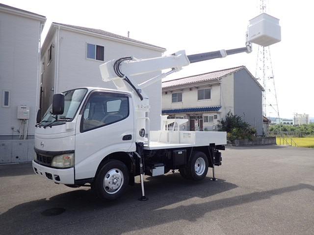 日野 デュトロ 高所作業車 H17 アイチSS10A 9.7m