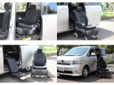 トヨタ ヴォクシー 2.0 X Lエディション ウェルキャブ サイドリフトアップシート車 電動自操式 4WD