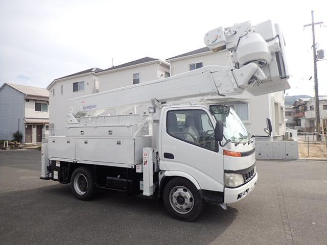 トヨタ ダイナ 高所作業車 H18 アイチSH15B  ワンピン