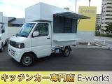 ミニキャブトラック VX-SE エアコン付 移動販売車 キッチンカー仕様