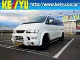 三菱 デリカスぺースギア 3.0 スーパーエクシード ロング クリスタルライトルーフ 4WD