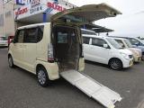 N-BOX+  福祉車輛 4WD 車イス 電動ウインチ リアスロープ シートヒーター