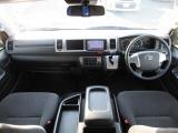 ハイエース 2.7 グランドキャビン 4WD 衝突軽減 後期型禁煙車 BT対応SDナビ
