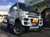 エブリイワゴン JPターボ 4WD リフトアップ車車検5年2月 電動格納ミラー
