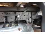 燃料タンク60L シャーシは 錆止め/マフラー塗装 仕上げに力を入れています。